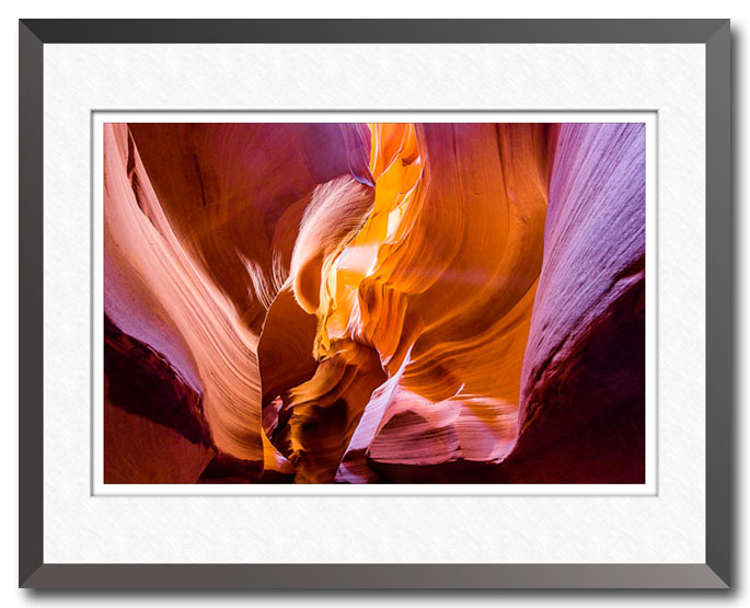 Fine art photo from Antelope Canyon near Page, Arizona