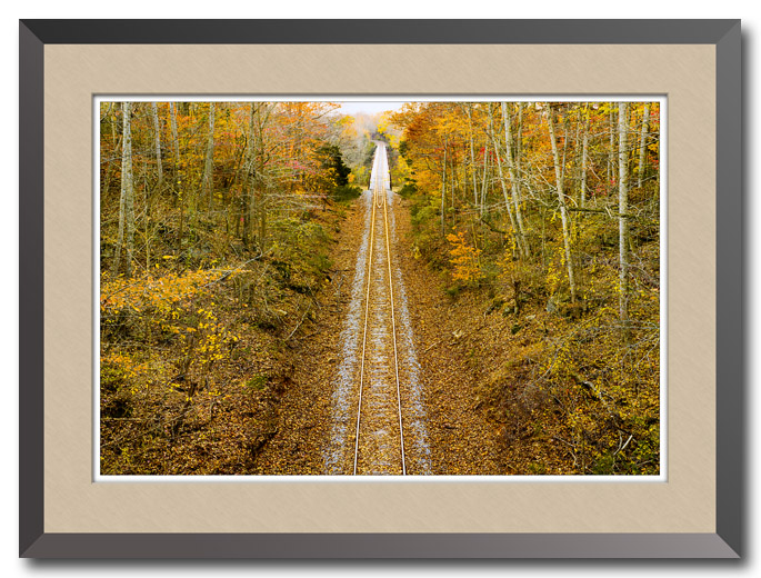 Riding the Rails, Rock Island State Park, Tennessee