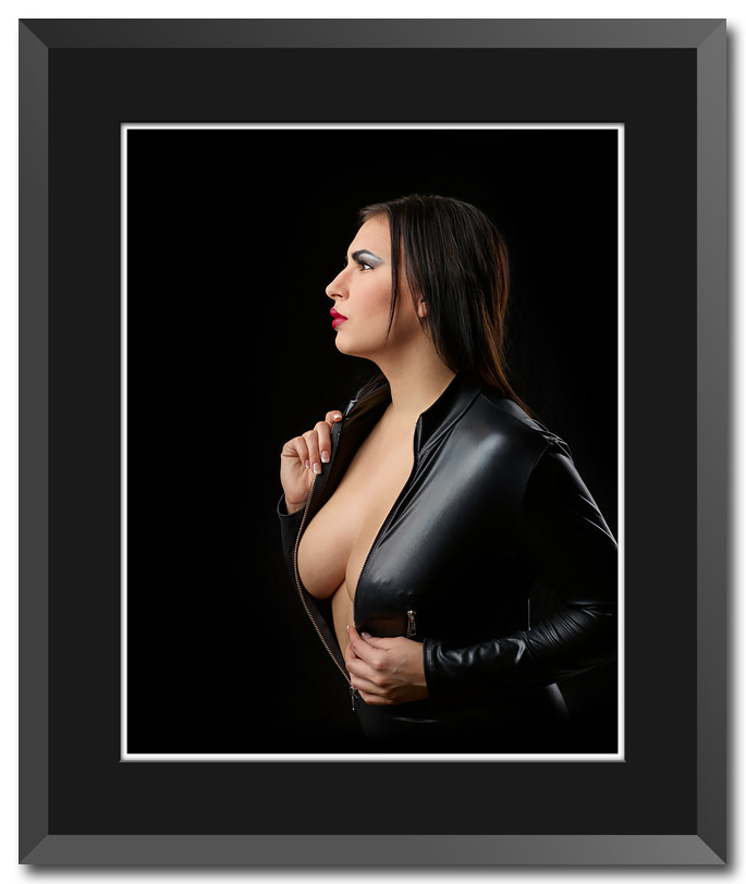 Fine art portrait by fine art photographer Craig Stocks showing simple graceful lines