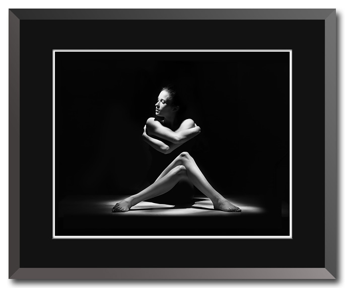 Fine art black and white figure photography by Craig Stocks