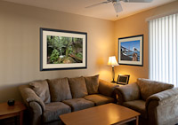 Learn to superimpose photos onto room walls